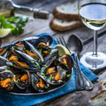 mussels and wine | seafood in Louisville